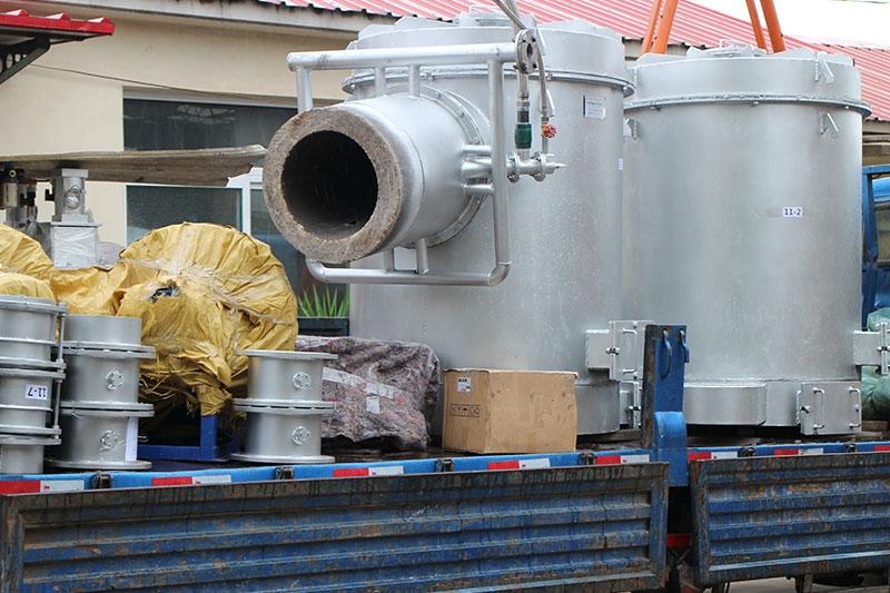内蒙熔铝炉蓄热烧嘴系统